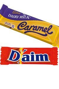 7 Amazing chocolate swaps that will save you loads of calories! Hurrah! sweets, chocolate, Cadbury