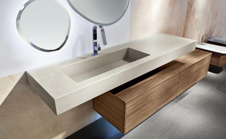 Atlante - Profili netti e superfici pulite per un arredo bagno moderno e dal design metropolitano
