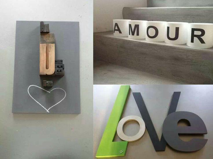 41 best a vos lettres images on pinterest letters lantern candle holders and alice. Black Bedroom Furniture Sets. Home Design Ideas