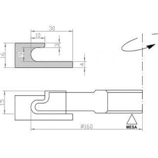 17 mejores ideas sobre tiradores de caj n de la cocina en pinterest manijas del armario de - Tiradores para cajones ...