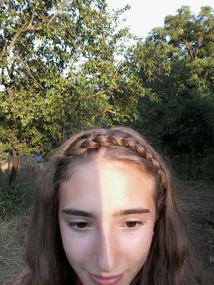 A hairstyle perfect for long days of summer !😍😍