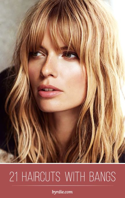 The best haircuts with #bangs: 21 different beautiful styles. // #hair #inspiration