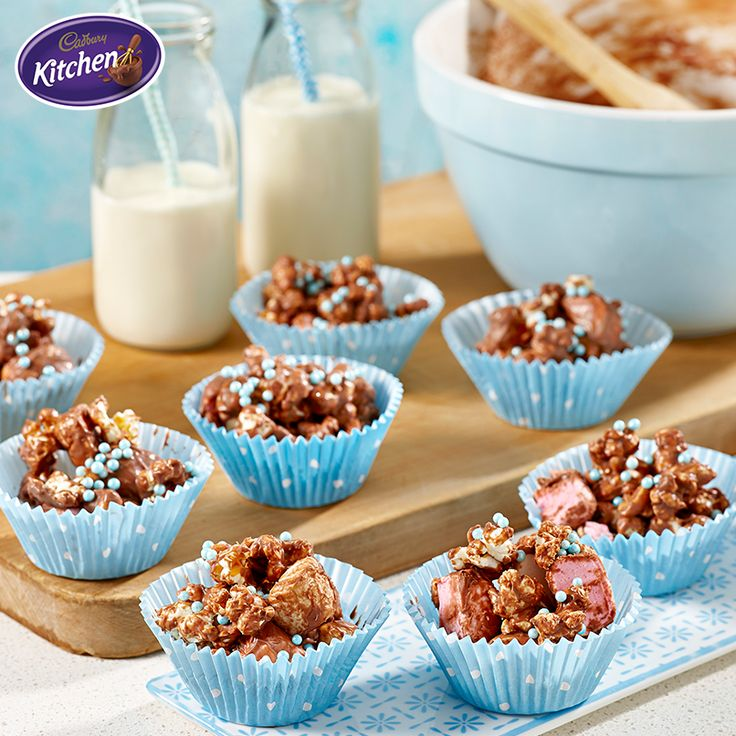 Wondering how to keep the kids entertained for the rest of the holidays? These scrumptious Chocolate Moon Rock Clusters are the perfect treat to keep little hands busy!  #CADBURY #dessert #chocolate #schoolholidays #baking #summer #recipe