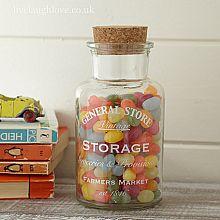 Vintage Storage Jar-Small