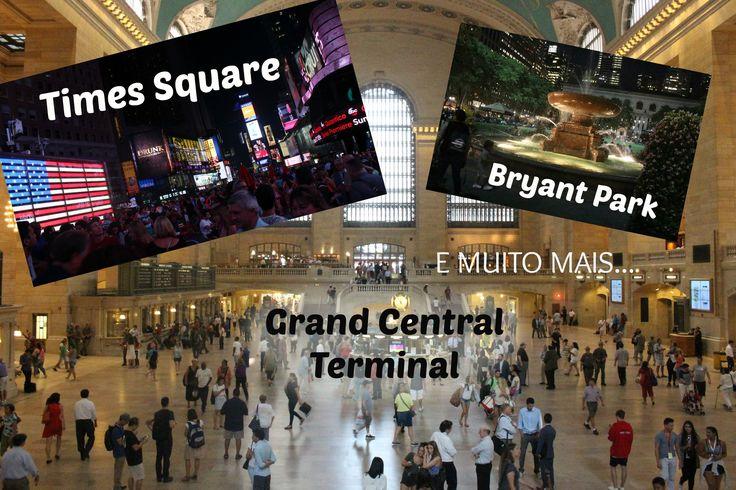 No segundo vídeo da minha viagem de 15 anos em revelo qual foi a cidade escolhida e mostro durante o vídeo que não errei nenhum pouco na escolha.Venha conferir de pertinho a Times Square,Bryant Park,Grand Central Terminal (estação de trens muito famosa),Loja de 1 dólar e MUITO MAIS!