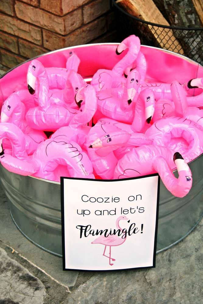 Let's Flamingle and Tacoabout It | CatchMyParty.com