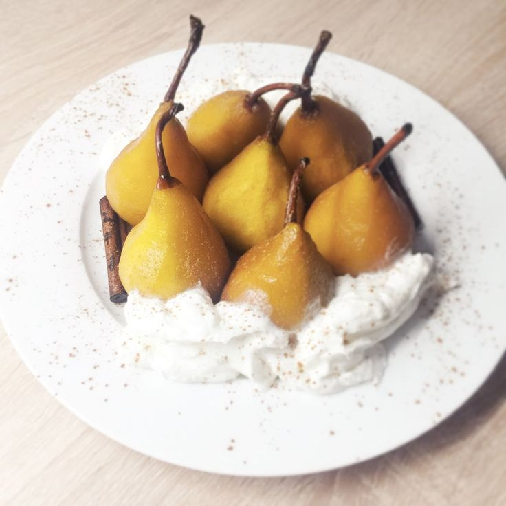 Recipe: Healthy Poached Pears - decor8