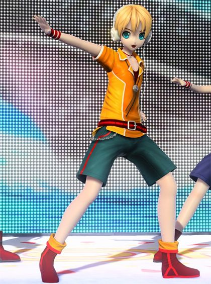 17 best images about project diva photos on pinterest - Kagamine rin project diva ...
