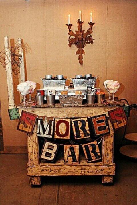 Smore Bar - now that's genius
