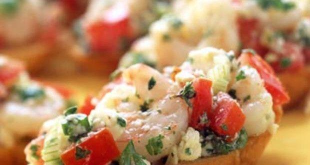 Νέα συνταγή: Μπρουσκέτες με #γαρίδες!! Διαβάστε στη σελίδα με τις #συνταγές μας: http://www.mykonos-flora.gr/recipes/mprousketes-me-garides/