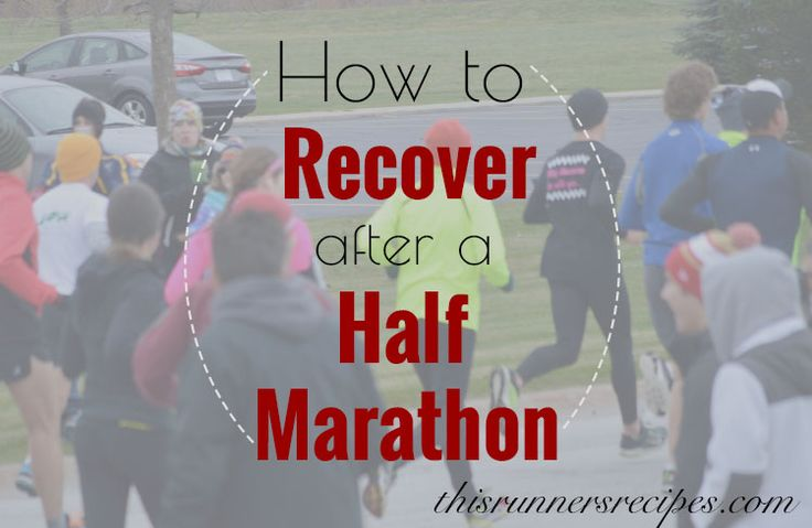If you just finished a race, you are probably wondering how to recover after a half marathon. A break from running will help you recover and come back stronger after your race.