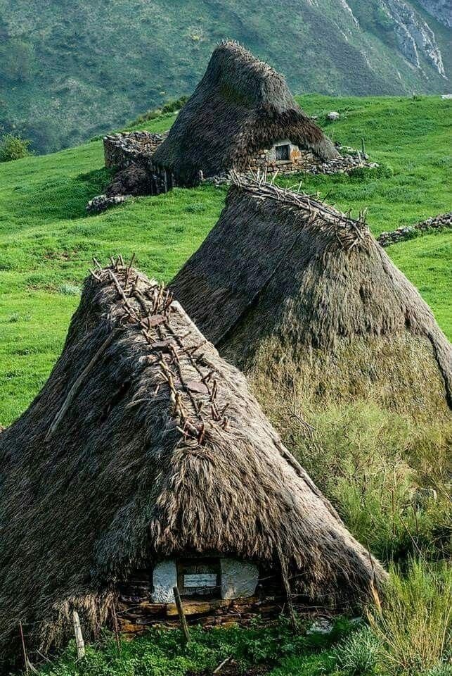 Cabañas de Tieto,Somiedo,Asturias