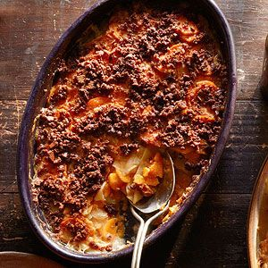 Rachel Ray's Thanksgiving Sweet Potato Recipes - Sweet Potato & Apple Gratin