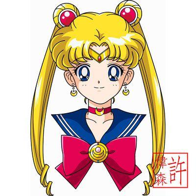 Sailor Moon Face Anime Style by xuweisen.deviantart.com on @deviantART