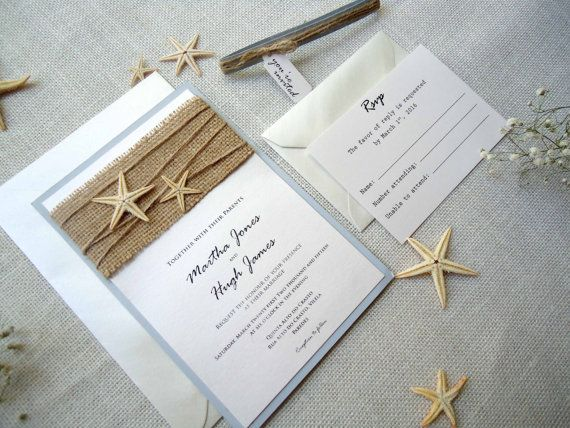 21 best Beach Wedding Invitations images on Pinterest