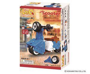 LaQ Hamacron Constructor Mini Scooter- Moped - Bygg en liten moped av totalt 48 byggbitar, en beskrivning medföljer. LaQ är roligt och kreativt. Tränar finmotoriken och förmågan att läsa och följa en beskrivning. Från 5 år.
