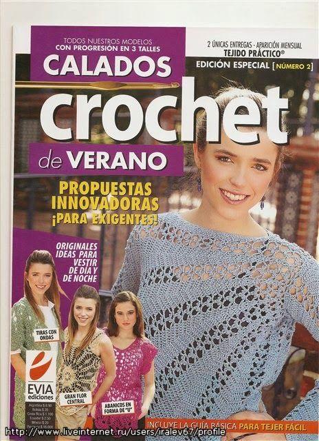 Artesanato com amor...by Lu Guimarães: Revista Crochê Completa