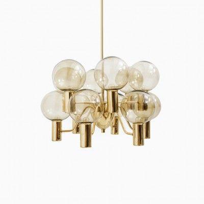 Marvelous Hanging Lamp by Hans Agne Jakobsson for Hans Agne Jakobsson