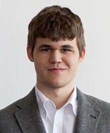 Magnus Carlsen- chess champion 2013-2016