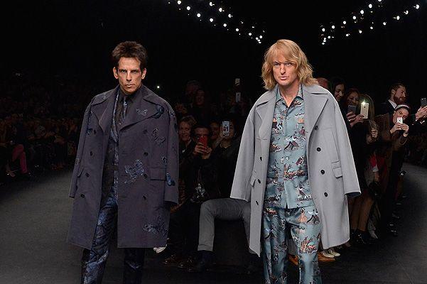 Бен Стиллер и Оуэн Уилсон прошлись по подиуму на показе Валентино. Таким образом, звезды комедии «Образцовый самец» объявили о начале съемок сиквела.