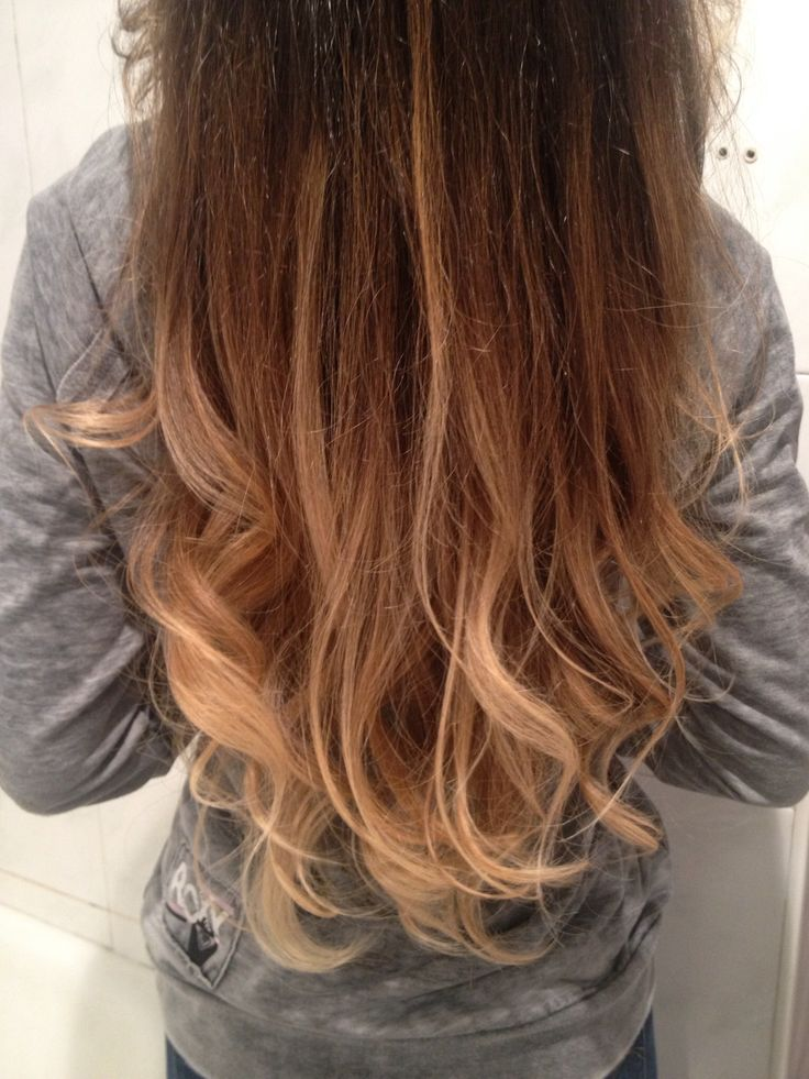 New Hair! ombre bayalage blond