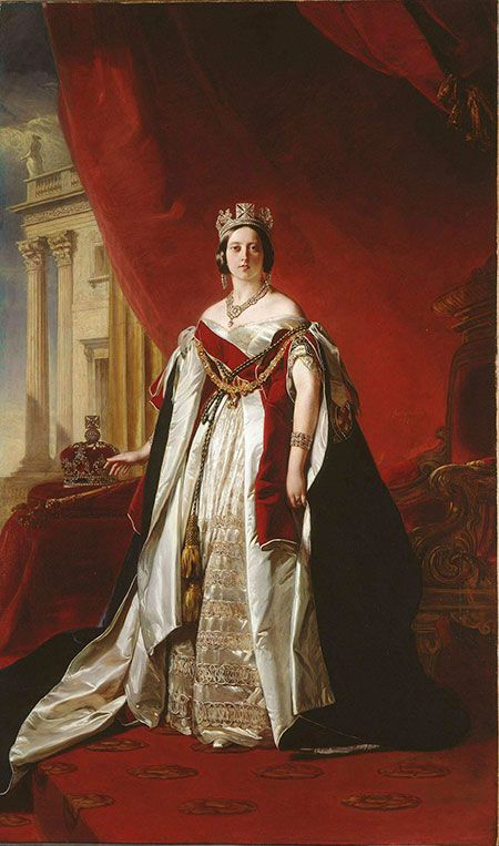 ヴィクトリア女王 戴冠式
