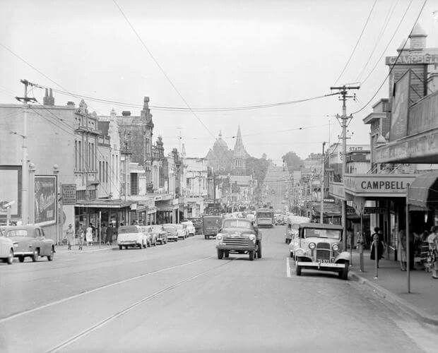 Burke Rd,Camberwell,Victoria in 1957.