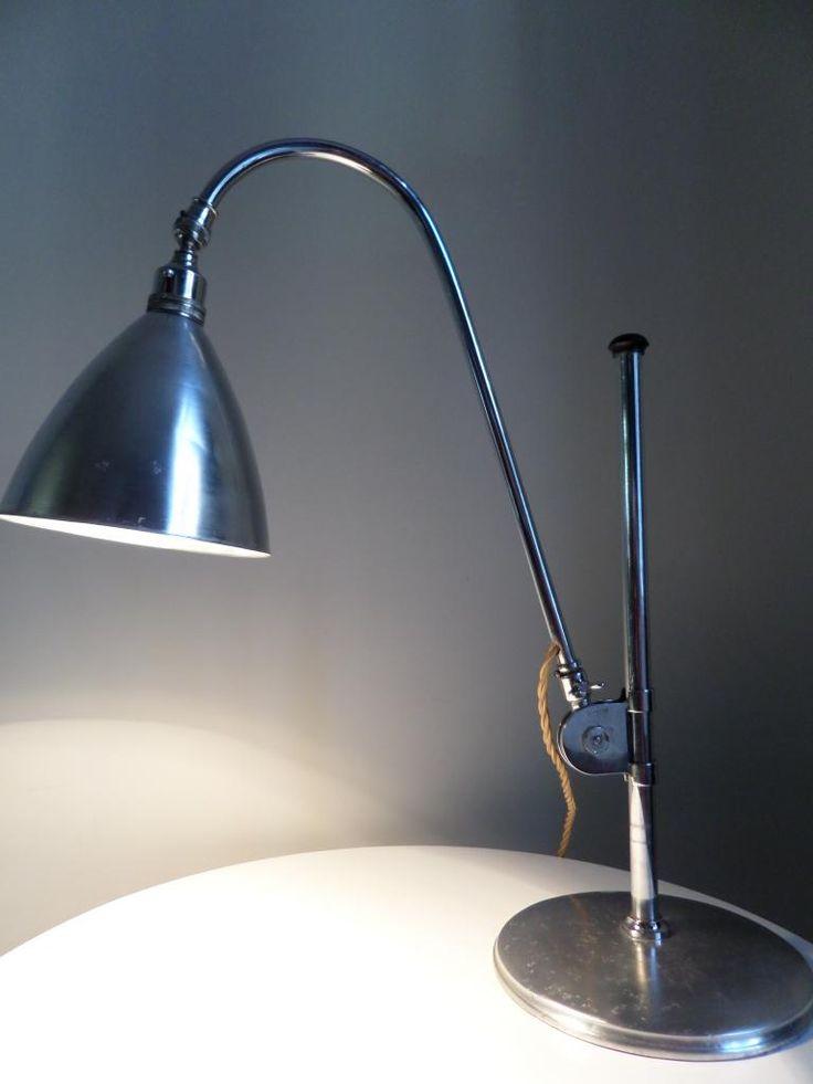 Original Vintage 1930s Deco Bestlite Bl1 Desk Table Lamp