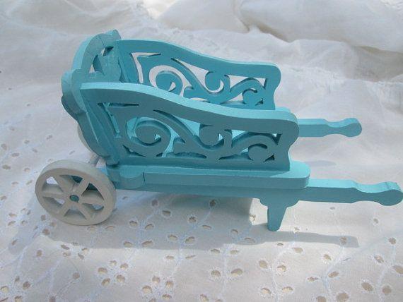 Scandinavian miniature wheelbarrow. by ppwoodcrafts on Etsy