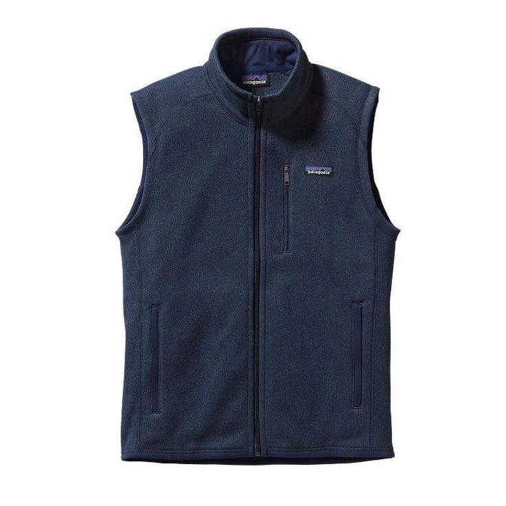 Patagonia Men's Better Sweater Fleece Vest 25881 Classic Navy