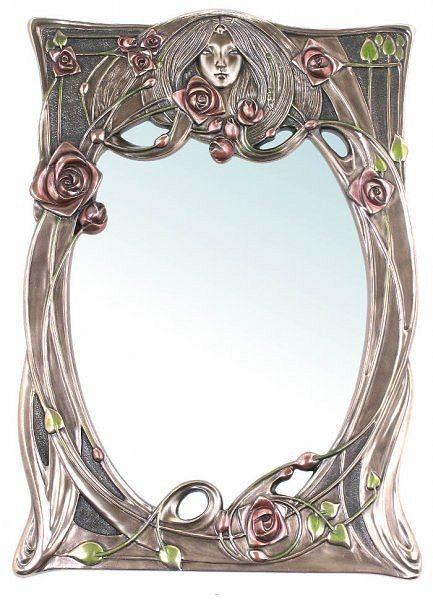 Secesyjne lustro z lady veronese - Global Replicas