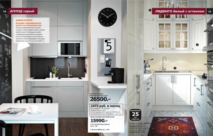 Кухни ИКЕА - фото 40 кухонь в интерьере, каталог IKEA 2015 года