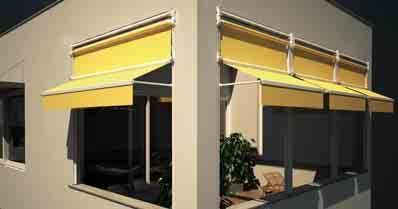 Tenda veranda Estate-Inverno