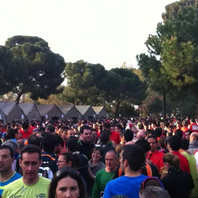 #ambientazo en la Media de Madrid!