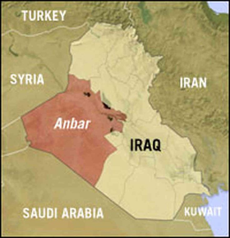 Uprooting Daesh from Anbar is very important whereby the future of Iraq is concerned, http://www.baghdadinvest.com/potential-conflict-lurks-beneath-iraqs-war-isis