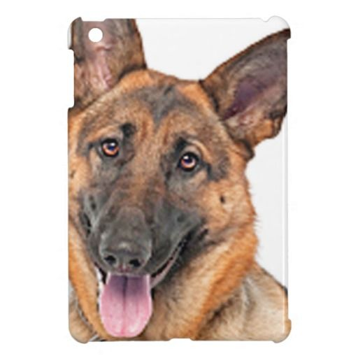 Keep your iPad mini safe and protected with this awesome #German-Shepherd design iPad case.