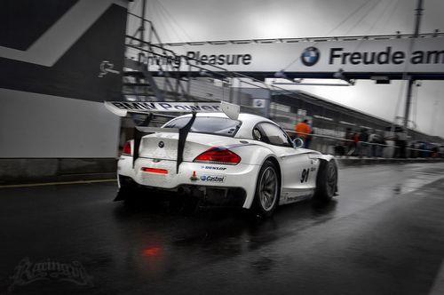BMW Z4 race car.