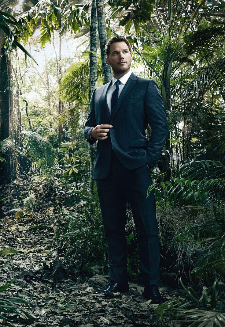 Chris Pratt - special photo shoot for JURASSIC WORLD - UNIVERSAL - kulturmaterial
