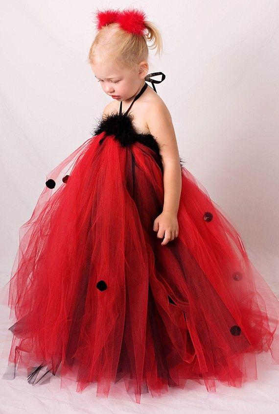 Ladybug tutu dress! So easy to make!!