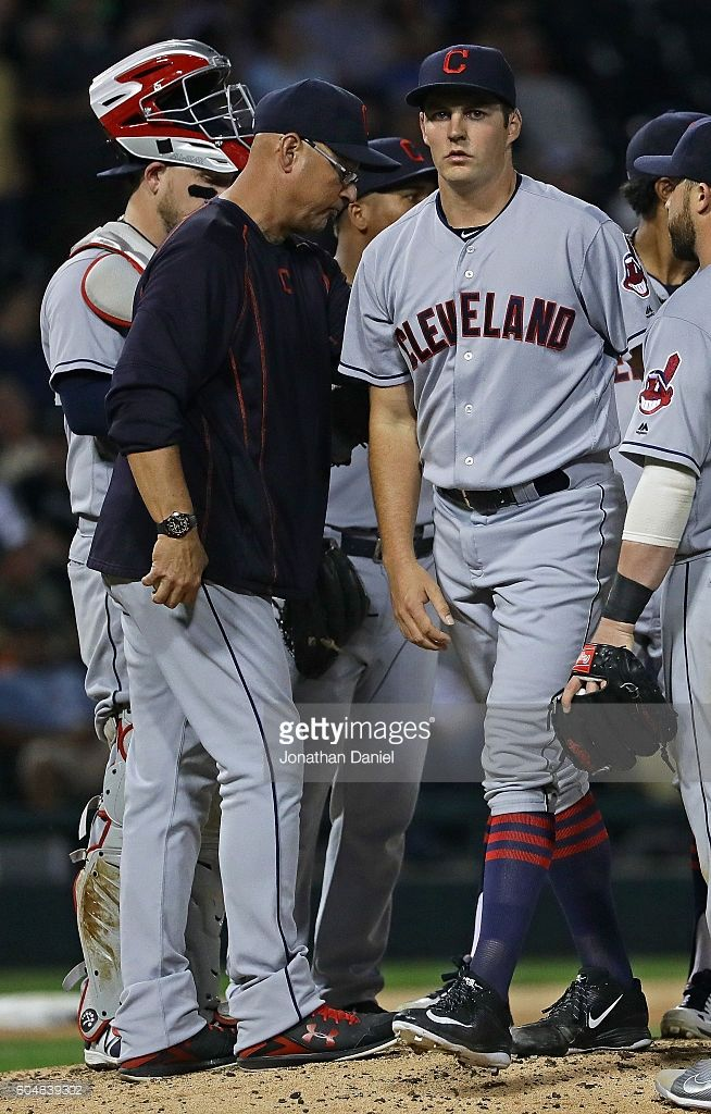 Terry francona, Trevor Bauer, CLE//Sept 13, 2016 at CHW