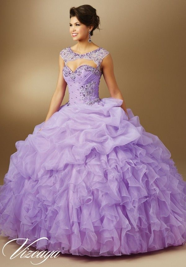 Top 2016 Purple Quinceanera Dresses