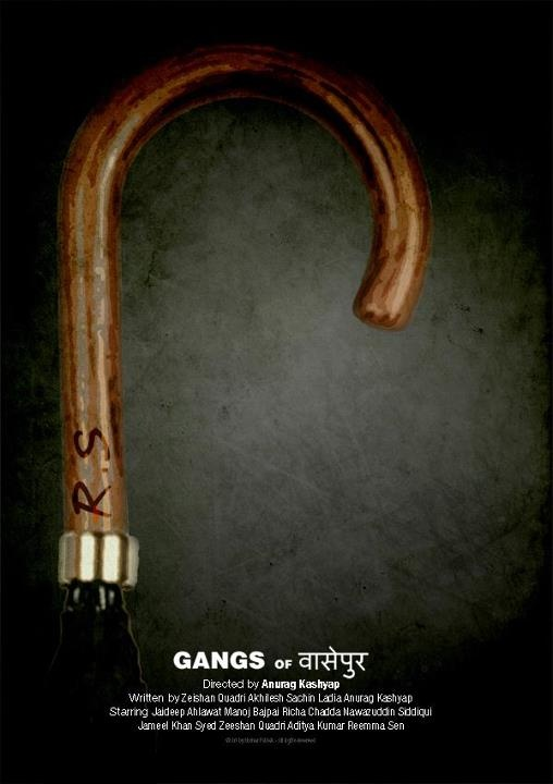 Gangs Of Wasseypur Film Posters Vintage Movie Poster Art Bollywood Posters