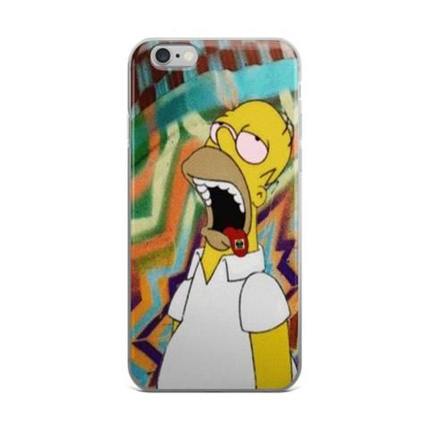 Homer Simpson On Acid Tabs iPhone 4 4s 5 5s 5C 6 6s 6 Plus 6s Plus 7 & 7 Plus Case - JAKKOUTTHEBXX - Homer Simpson On Acid Tabs iPhone 4 4s 5 5s 5C 6 6s 6 Plus 6s Plus 7 & 7 Plus Case iPhone 6 6s 6 Plus Phone Case/Skin - JAKKOU††HEBXX - JAKKOUTTHEBXX