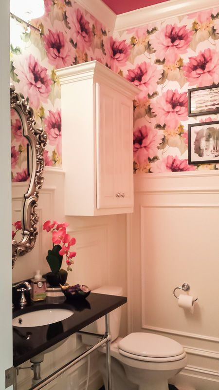 Design Inspiration From The Tulsa Parade Of Homes Day 1 Pink Bathroom Decorpink