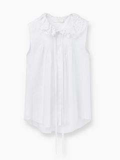 Discover Sleeveless Blouse and shop online on CHLOE Official Website. 17SHT2817S041
