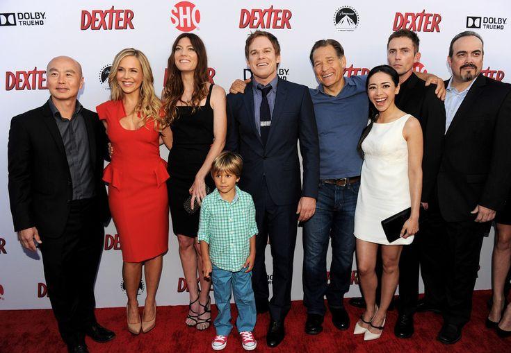 Dexter Cast Showtime Dexter Season 8 Premiere Screening