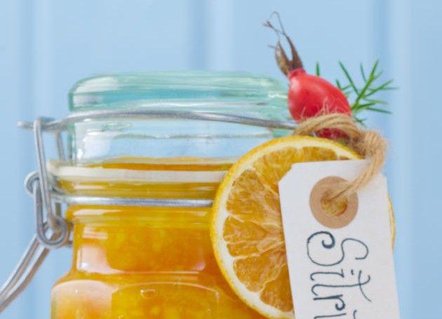 Marmelade med sitrusfrukter