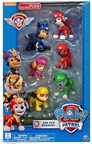 "Spin Master ""PAW Patrol"" Air Pup Buddies mini-figures"