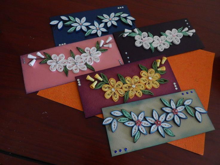 quilled envelopes