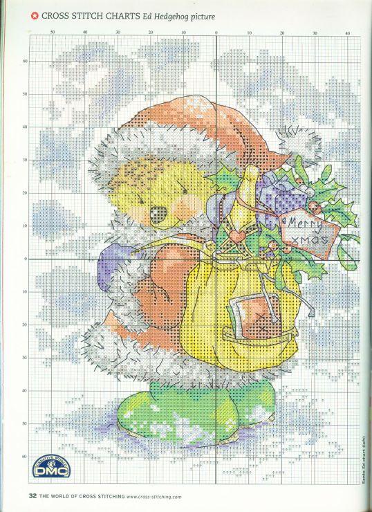 Gallery.ru / Фото #25 - The world of cross stitching 091 рождество 2004 - tymannost